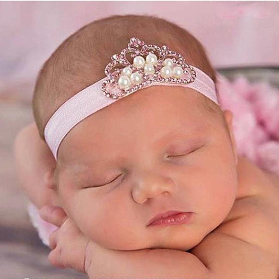 Haarband Kroontje - Newborn-1
