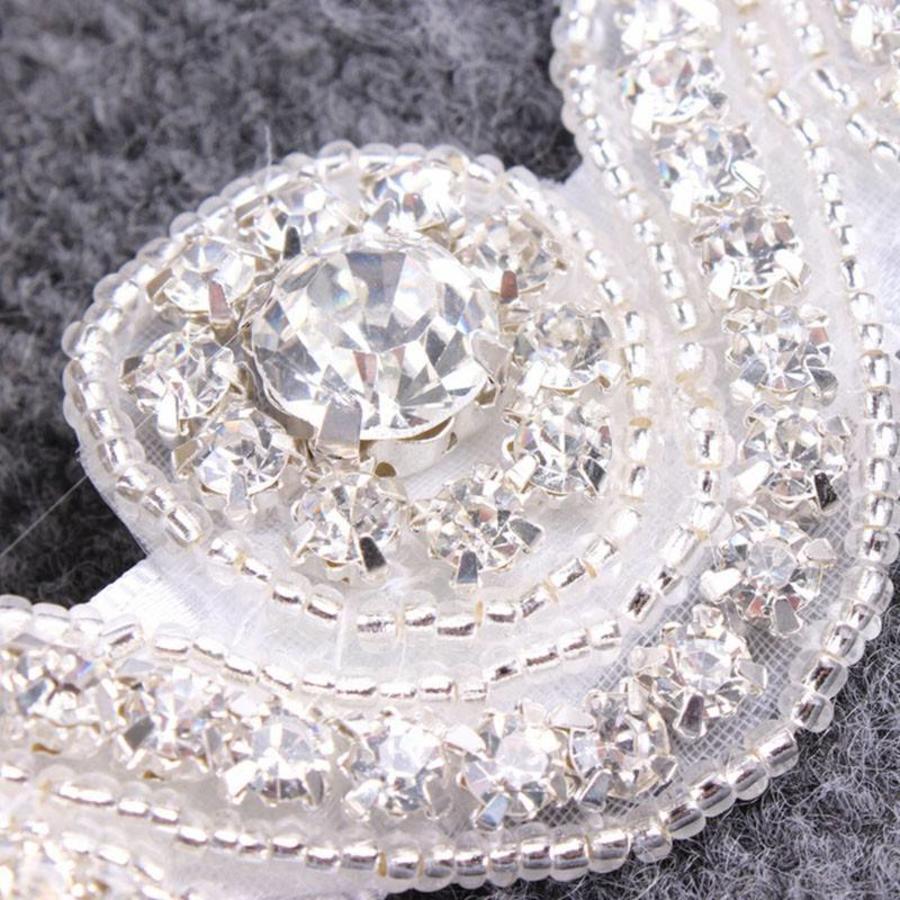 Haar Sieraad / Haarband met Fonkelende Kristallen-4