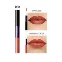 thumb-2-in-1 Matte  Lipgloss & Lip Oil - Color 01 Naked Orange-1