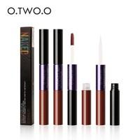 thumb-O.Two.O - 2-in-1 Matte Lipgloss & Lip Oil - Color 03 Warming-4