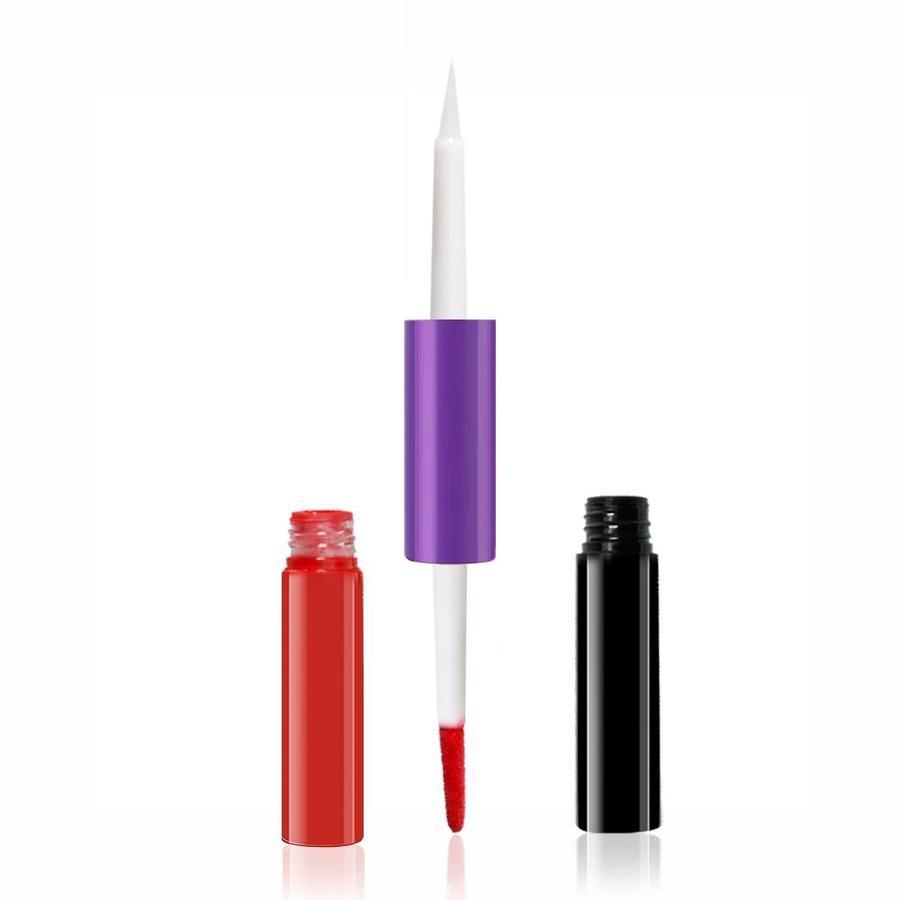 O.Two.O - 2-in-1 Matte Lipgloss & Lip Oil - Color 05 Frenesi-6
