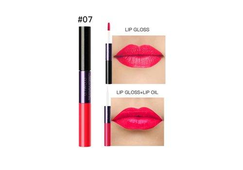 2-in-1 Matte  Lipgloss & Lip Oil - Color 07 Mature