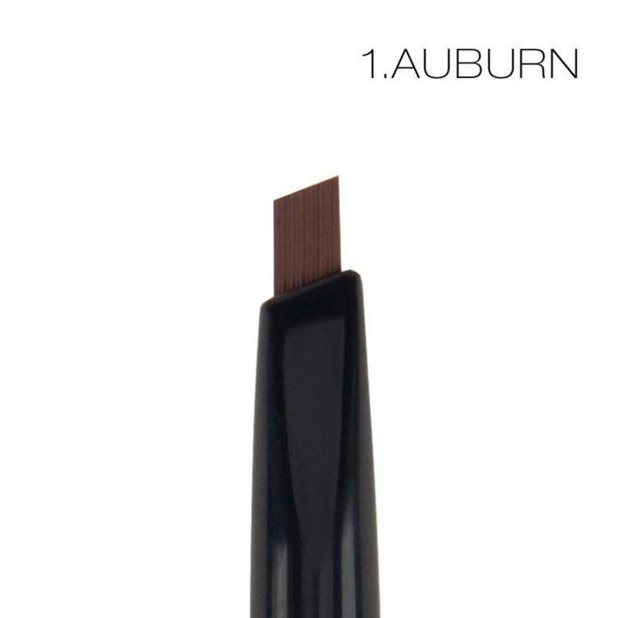 Wenkbrauwpotlood / Kwast / Borstel - Color Auburn-2