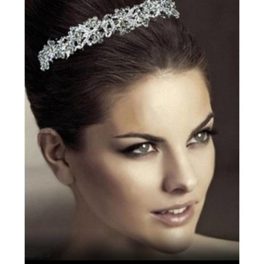 Eye Catcher - Kristallen Tiara-1