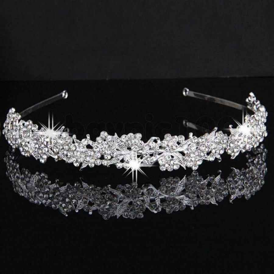 Eye Catcher - Kristallen Tiara-2