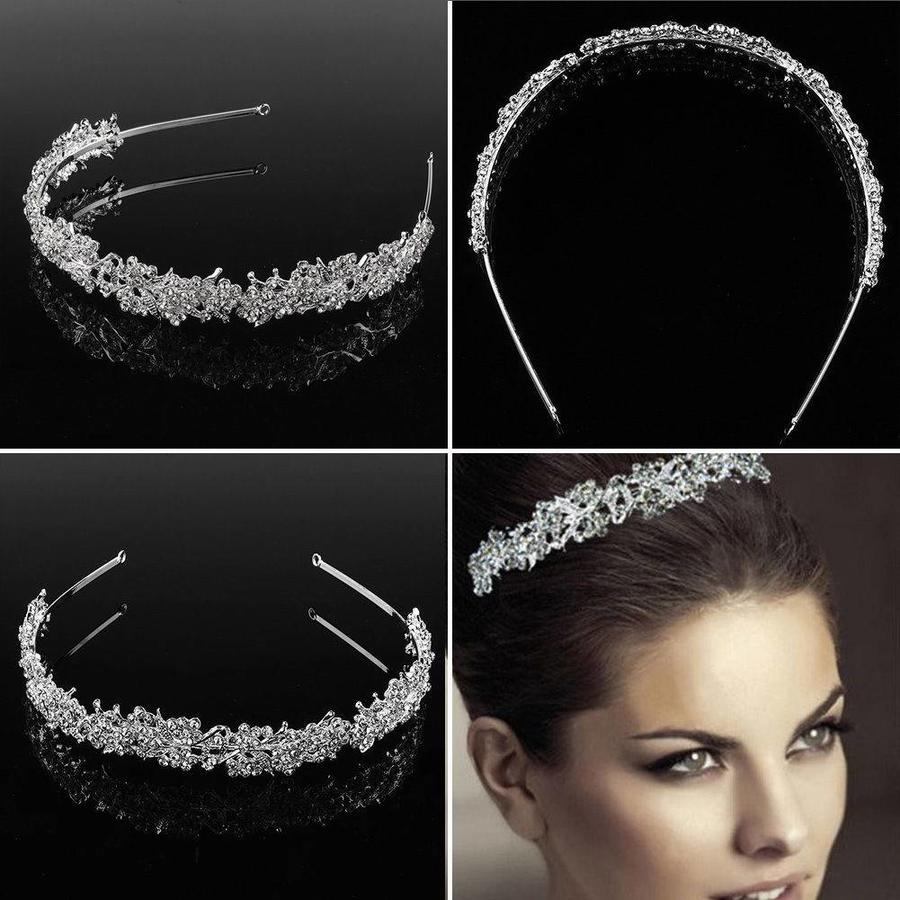 Eye Catcher - Kristallen Tiara-3