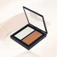thumb-Powder Contouring Make-up Kit - Color 03 Dark Brown-4
