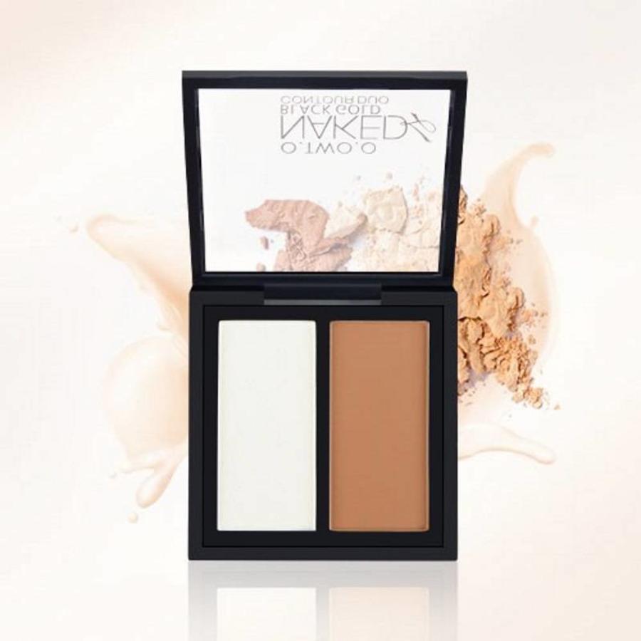 O.Two.O - Powder Contouring Make-up Kit - Color 03 Dark Brown-5