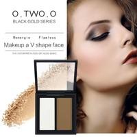 thumb-Powder Contouring Make-up Kit - Color 03 Dark Brown-6