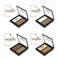 thumb-Powder Contouring Make-up Kit - Color 03 Dark Brown-2
