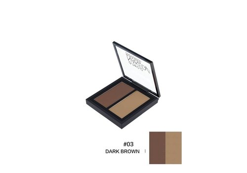 Powder Contouring Make-up Kit - Color 03 Dark Brown