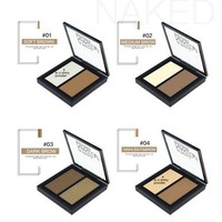 Powder Contouring Make-up Kit - Color 04 Highlight & Brown