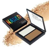 thumb-Powder Contouring Make-up Kit - Color 04 Highlight & Brown-7