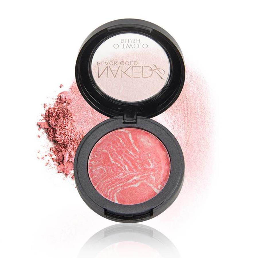 Baked Blush Rouge Color 02 Tweed Pink-6