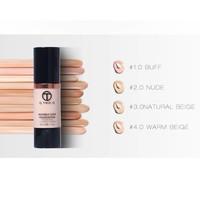 thumb-Fluid Foundation 24H Radiant - Color Natural Beige-5