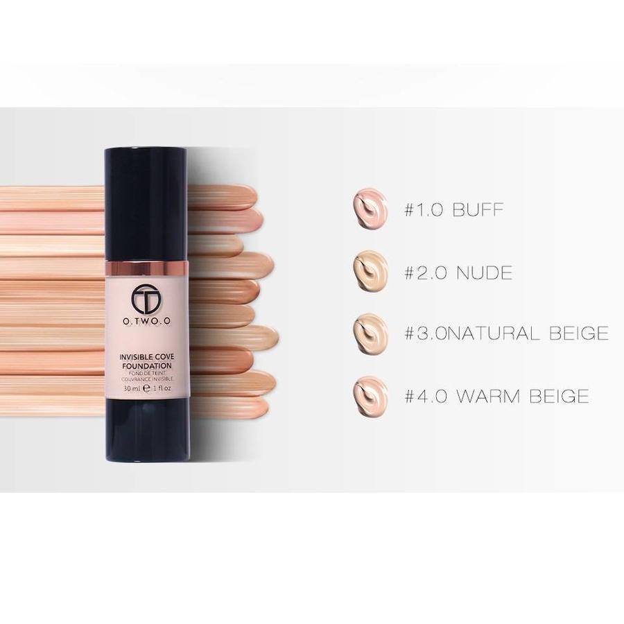 O.Two.O - Fluid Foundation 24H Radiant - Color Natural Beige-5