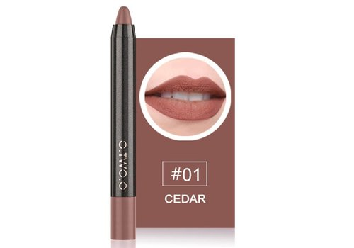 Crayon Matte Lipstick - Color 01 Cedar