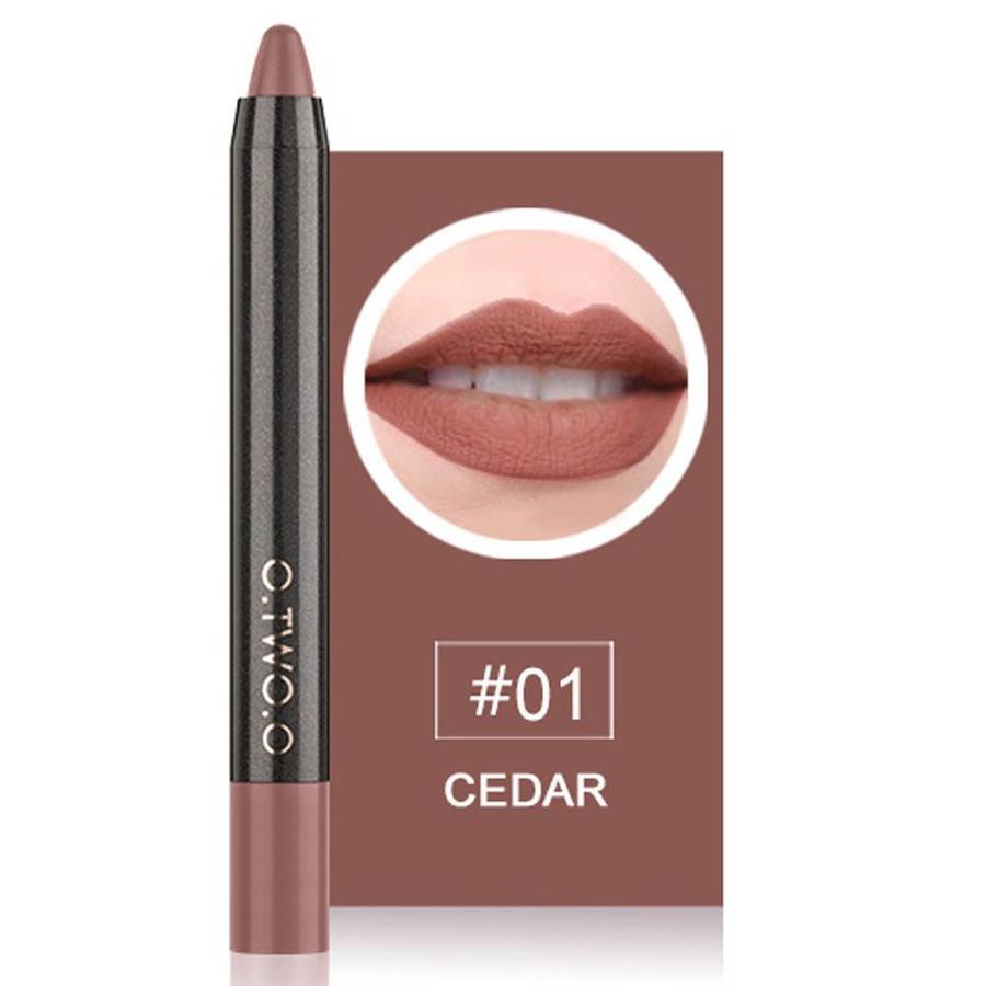 Crayon Matte Lipstick - Color 01 Cedar-1