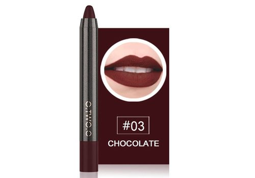 Crayon Matte Lipstick - Color 03 Chocolate