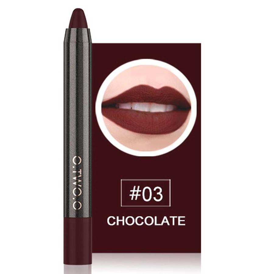 Crayon Matte Lipstick - Color 03 Chocolate-1