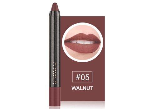 Crayon Matte Lipstick - Color 05 Walnut