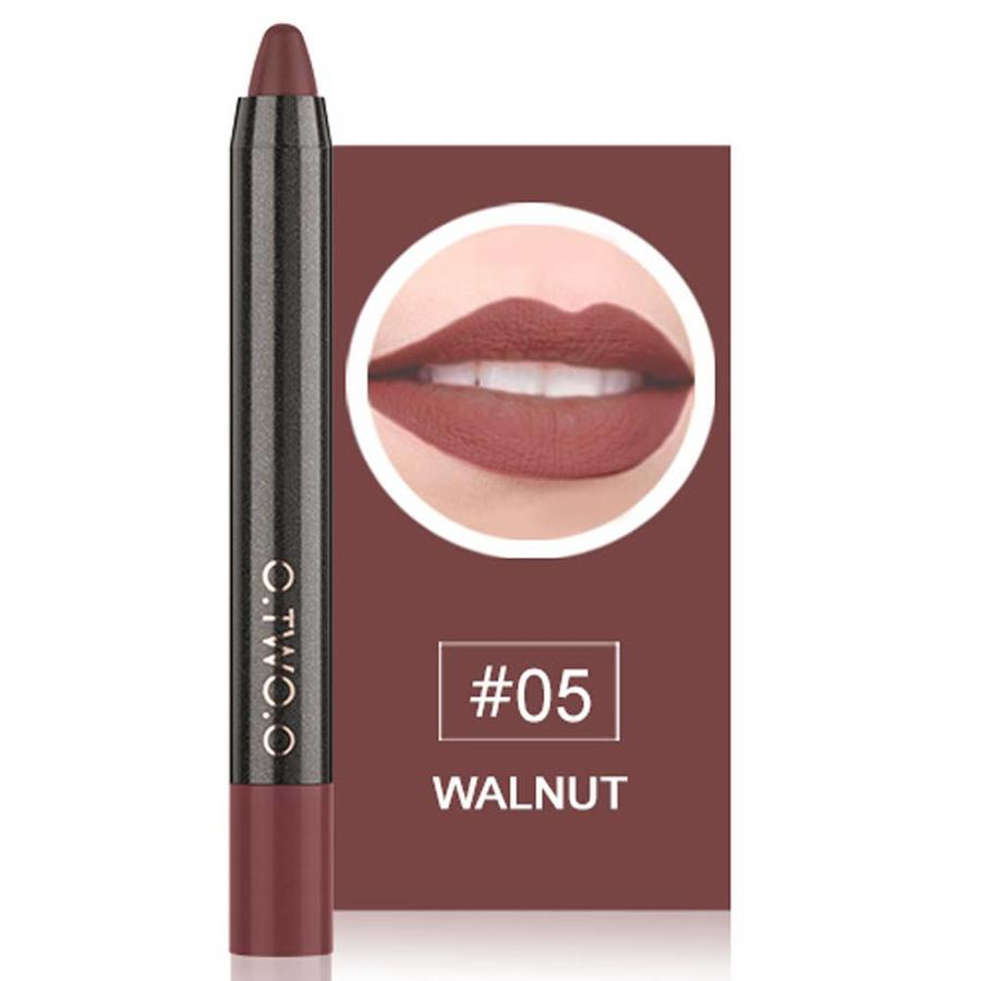 Crayon Matte Lipstick - Color 05 Walnut-1