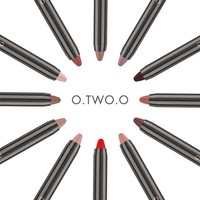 thumb-Crayon Matte Lipstick - Color 08 Regal Red-6