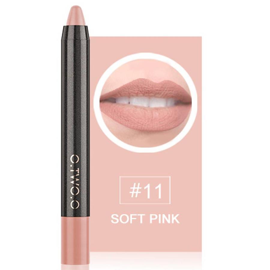 Crayon Matte Lipstick - Color 11 Soft Pink-1