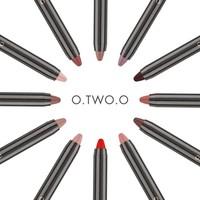 thumb-Crayon Matte Lipstick - Color 10 Brunette-6
