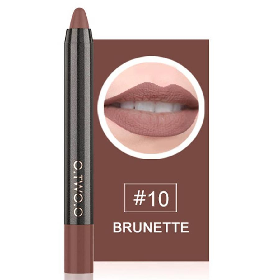 Crayon Matte Lipstick - Color 10 Brunette-1