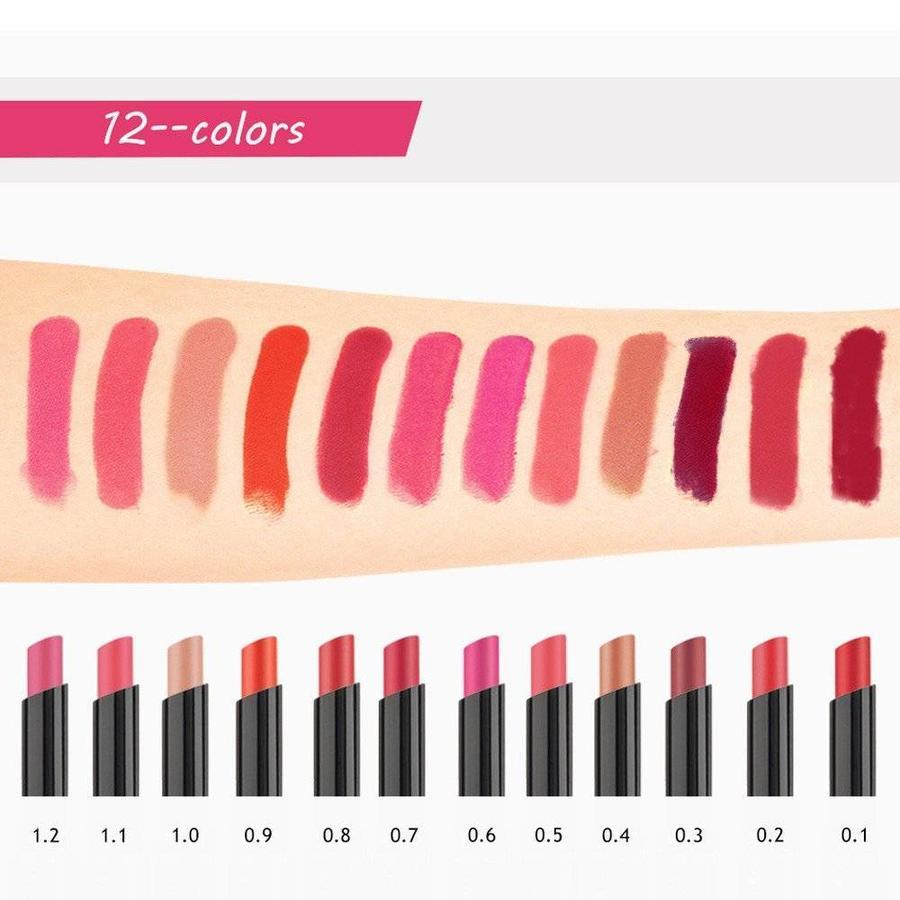 O.Two.O - Matte Lipstick Pen & Lip Brush 2 in 1 - Color 0.5 Orange Scandal-2