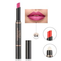 thumb-Matte Lipstick Pen & Lip Brush 2 in 1 - Color 0.6 Pinky Violet-1