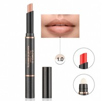 thumb-Matte Lipstick Pen & Lip Brush 2 in 1 - Color 1.0 Soft Coral-1