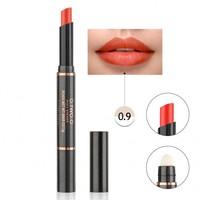 thumb-Matte Lipstick Pen & Lip Brush 2 in 1 - Color 0.9 Fusion Orange-1