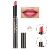 thumb-Matte Lipstick Pen & Lip Brush 2 in 1 - Color 1.1 Rose Pink-1