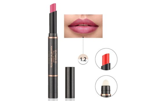 Matte Lipstick Pen & Lip Brush 2 in 1 - Color 1.2 Noble Pink