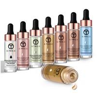 thumb-O.Two.O - Highlighter Met Shimmer Glitter Effect - Color 6.0 Light Copper-8