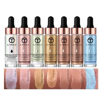 thumb-O.Two.O - Highlighter Met Shimmer Glitter Effect - Color 6.0 Light Copper-2