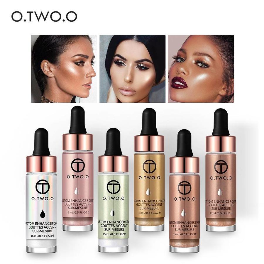 O.Two.O - Highlighter Met Shimmer Glitter Effect - Color 6.0 Light Copper-10