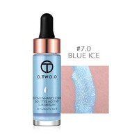 thumb-Highlighter Met Shimmer Glitter Effect - Color 7.0 Blue Ice-1