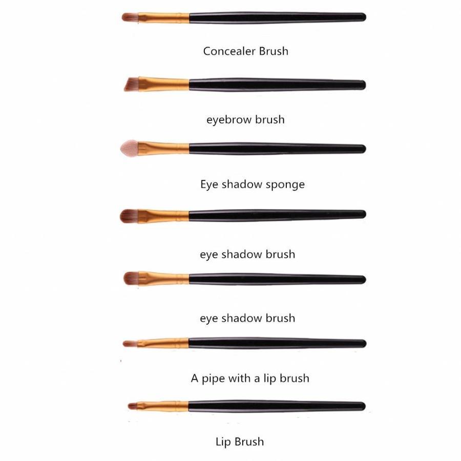 Make-up Brush Set Professional - 20 stuks - Black Gold-3