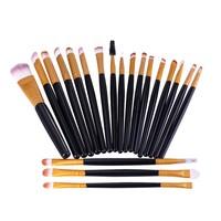 thumb-Make-up Brush Set Professional - 20 stuks - Black Gold-8