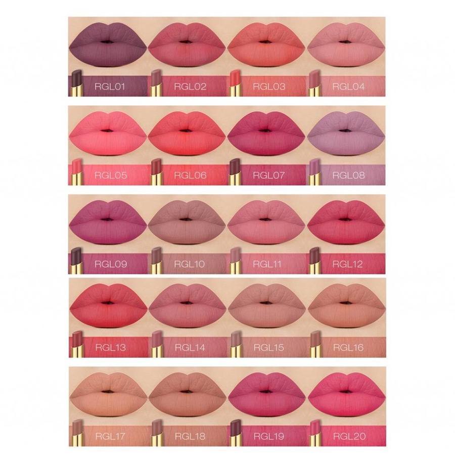 Matte Lipstick Long Lasting - Color RGL02-4