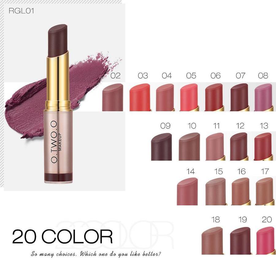 O.Two.O - Matte Lipstick Long Lasting - Color RGL20-5