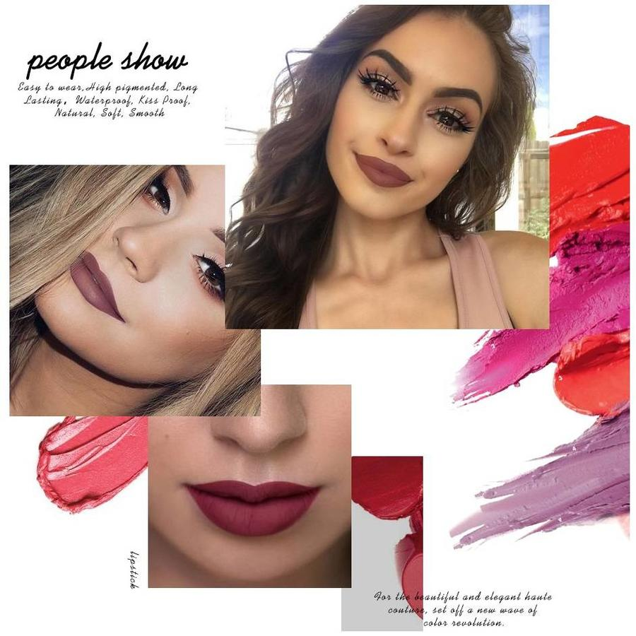 O.Two.O - Matte Lipstick Long Lasting - Color RGL20-6