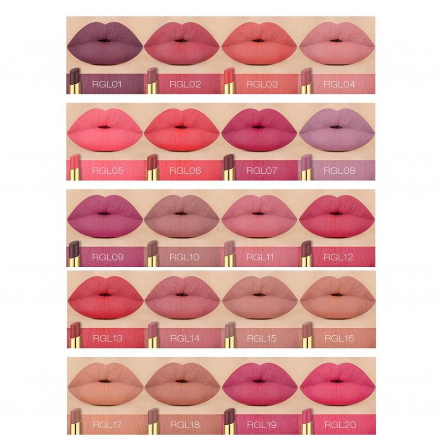 O.Two.O - Matte Lipstick Long Lasting - Color RGL20-4