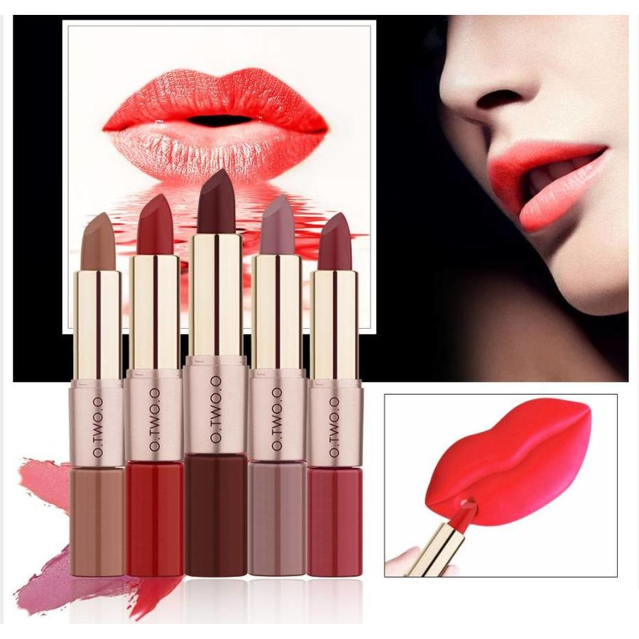 Matte Lipstick Pen & Liquid Suede Lipstick 2 in 1 - Color 0.4 Bow N Arrow-5