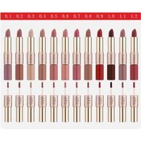 thumb-Matte Lipstick Pen & Liquid Suede Lipstick 2 in 1 - Color 0.5 Double Dare-2