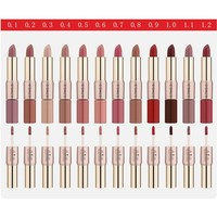 thumb-Matte Lipstick Pen & Liquid Suede Lipstick 2 in 1 - Color 0.8 Lovestick-2