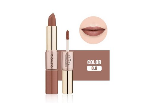 Matte Lipstick Pen & Liquid Suede Lipstick 2 in 1 - Color 0.8 Lovestick